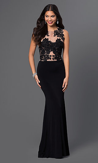 Discount black lace dresses