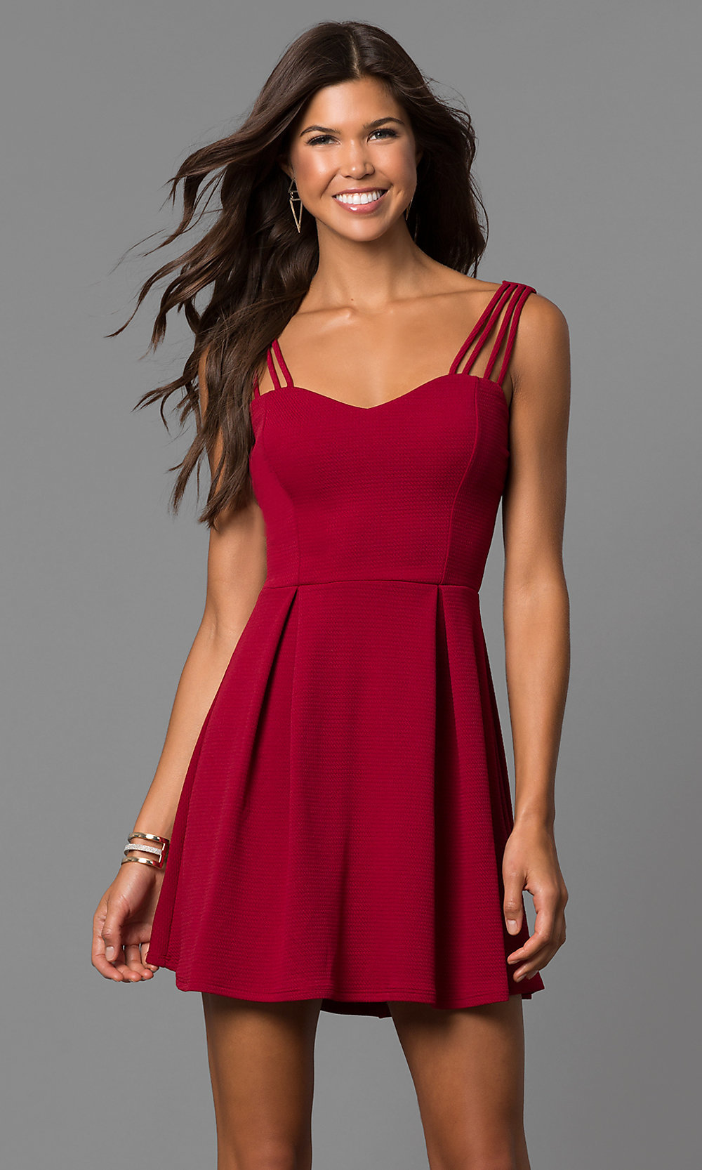Sleeveless Summer Casual Dress - PromGirl