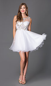Image of Homecoming Party Dress by Alyce 3674 Style: AL-3674 Detail Image 1