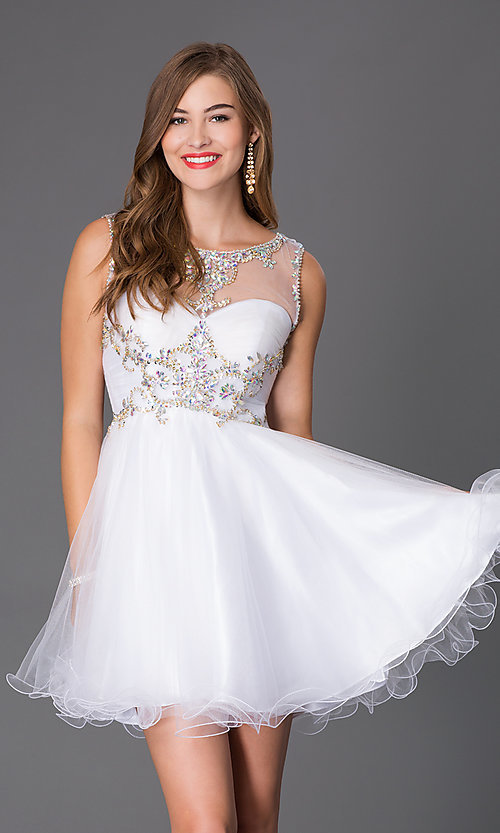 Image of Homecoming Party Dress by Alyce 3674 Style: AL-3674 Front Image