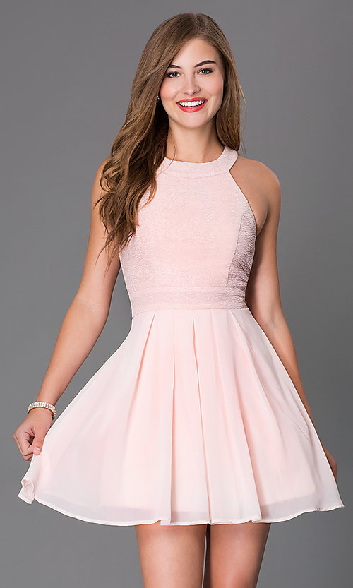 Short Sleeveless Dresses