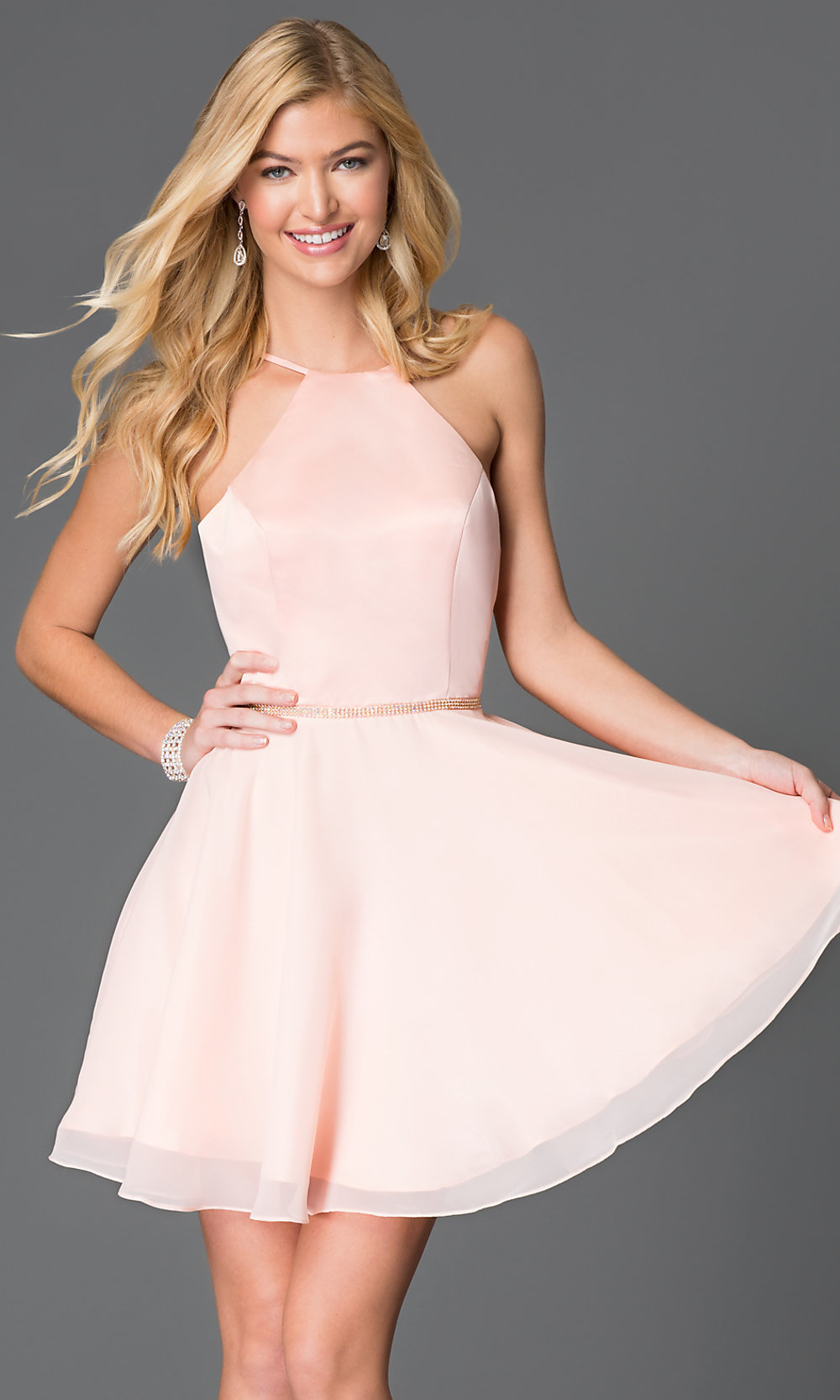 Promgirl Short Cocktail Dresses - Plus Size Dresses