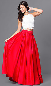Dave and Johnny Two Piece Ball Gown