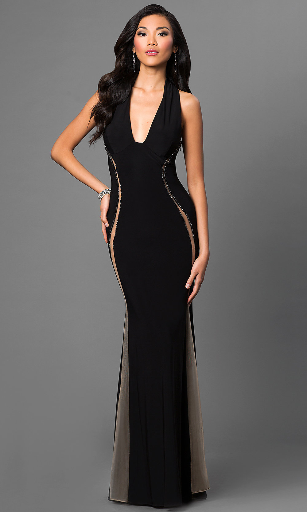 Celebrity Prom Dresses, Sexy Evening Gowns - PromGirl: AT