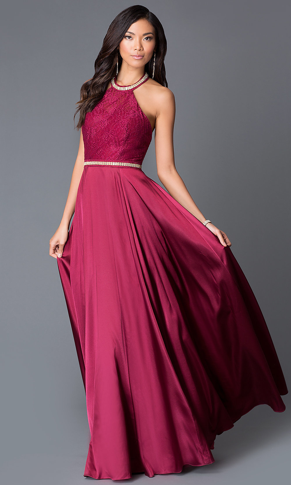 halter evening dresses
