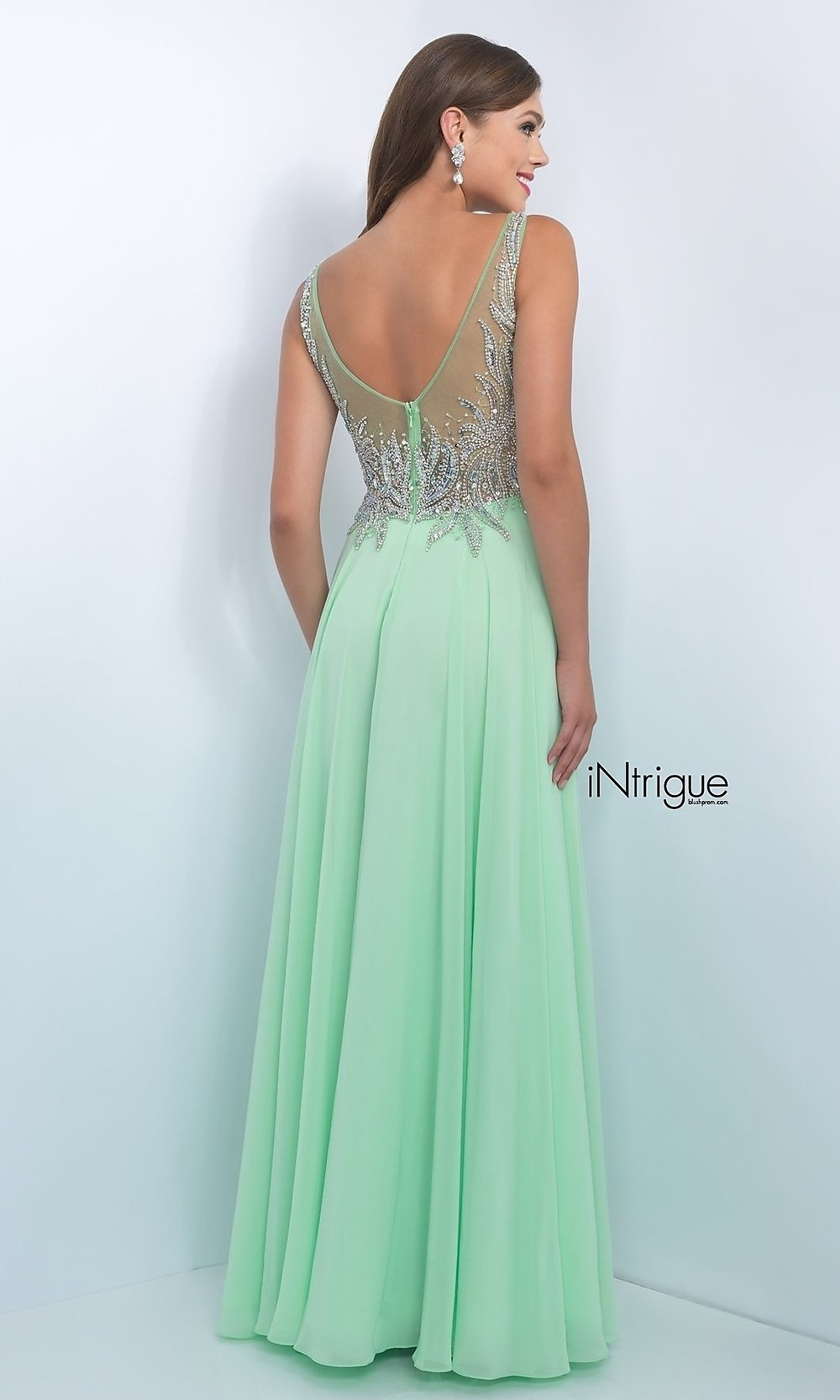 Celebrity Prom Dresses, Sexy Evening Gowns - PromGirl: BL-IN-165