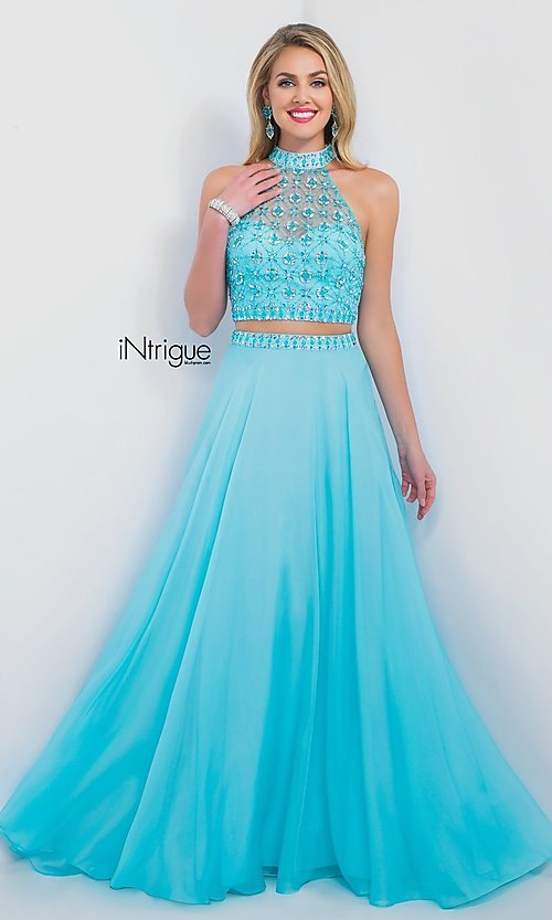 Turquoise Homecoming Dress