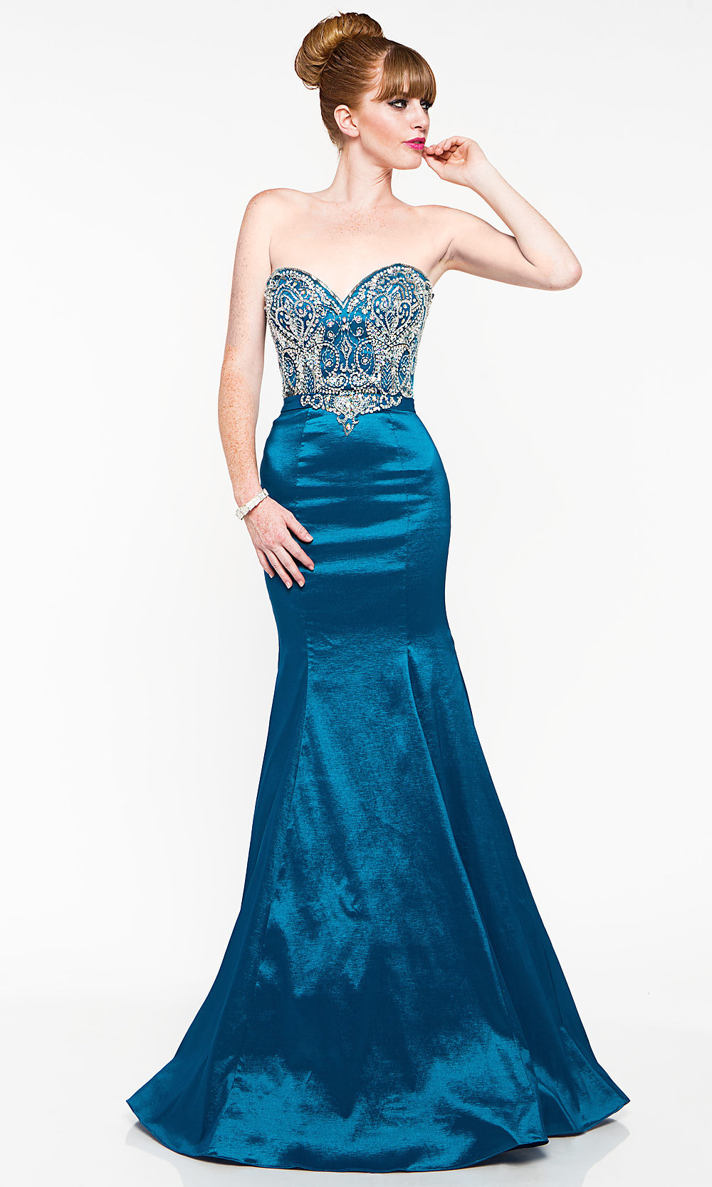Celebrity Prom Dresses, Sexy Evening Gowns - PromGirl: Floor Length ...