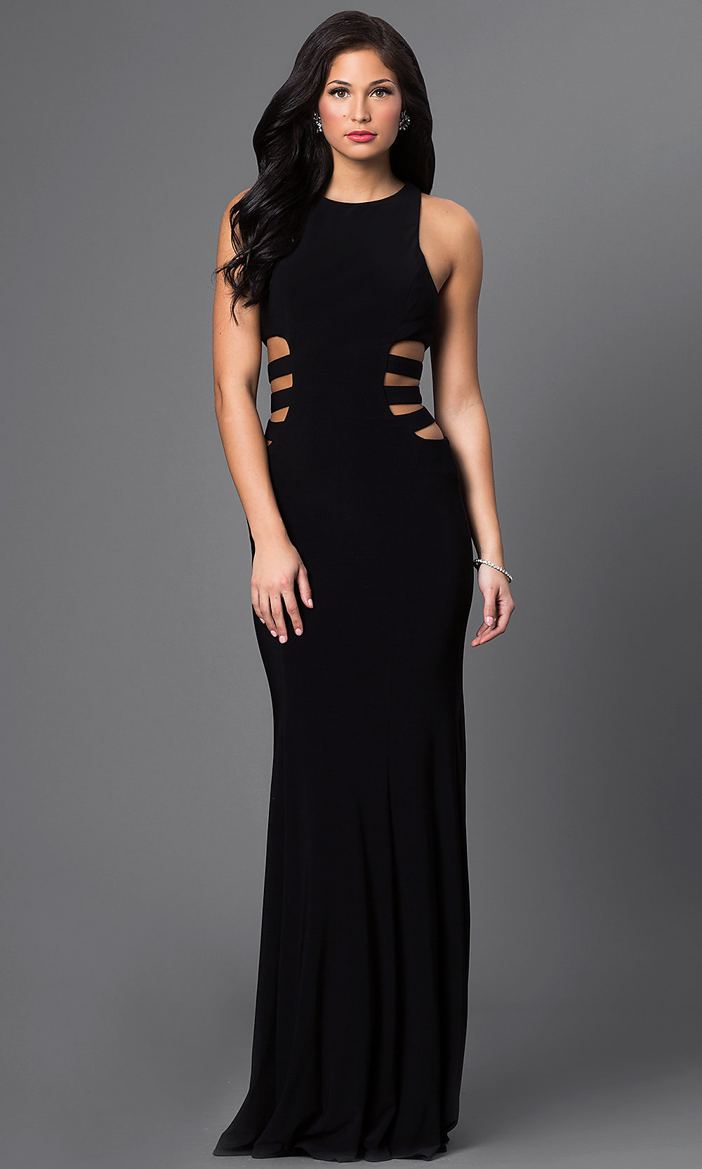 Side Cut Out Prom Dresses 89