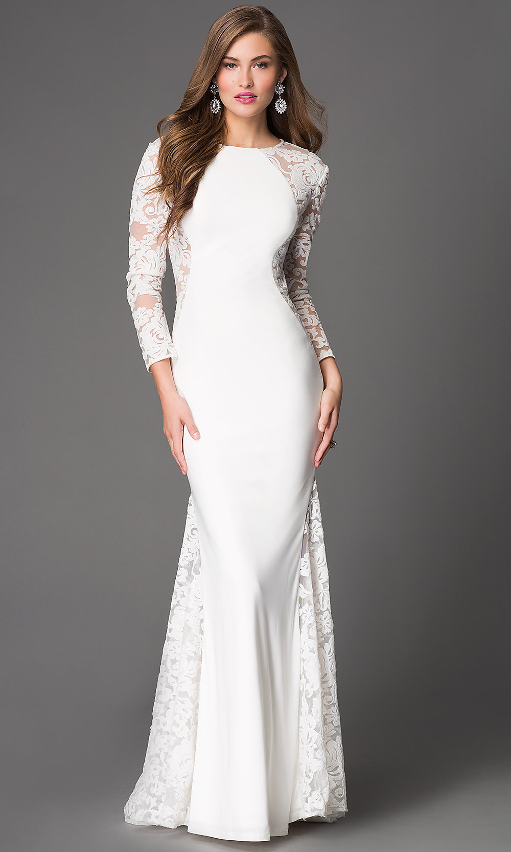 Do you dream of wearing a long sleeve wedding dress on your big day? Shop David's Bridal wide variety of wedding gowns with sleeves in lace & other designs! Wedding Dresses with Long Sleeves Product List. 1 Long Sleeve Lace Wedding Dress with .