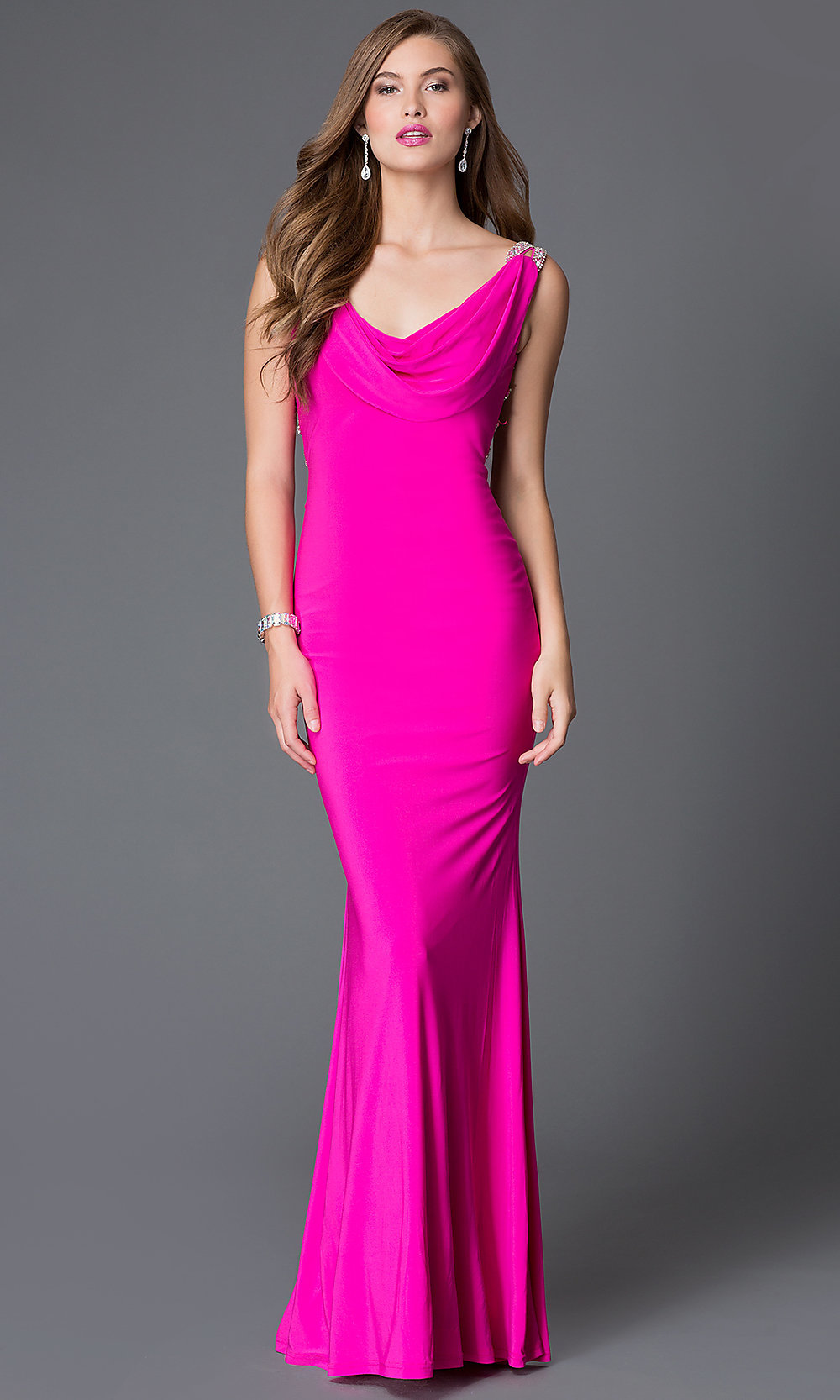 Celebrity Prom Dresses, Sexy Evening Gowns - PromGirl: XC-30649