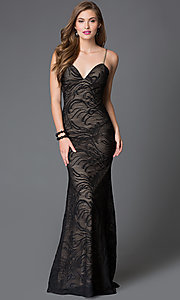 Open Back Xcite Prom Dress