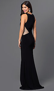 Floor Length Illusion Temptation Dress 4043