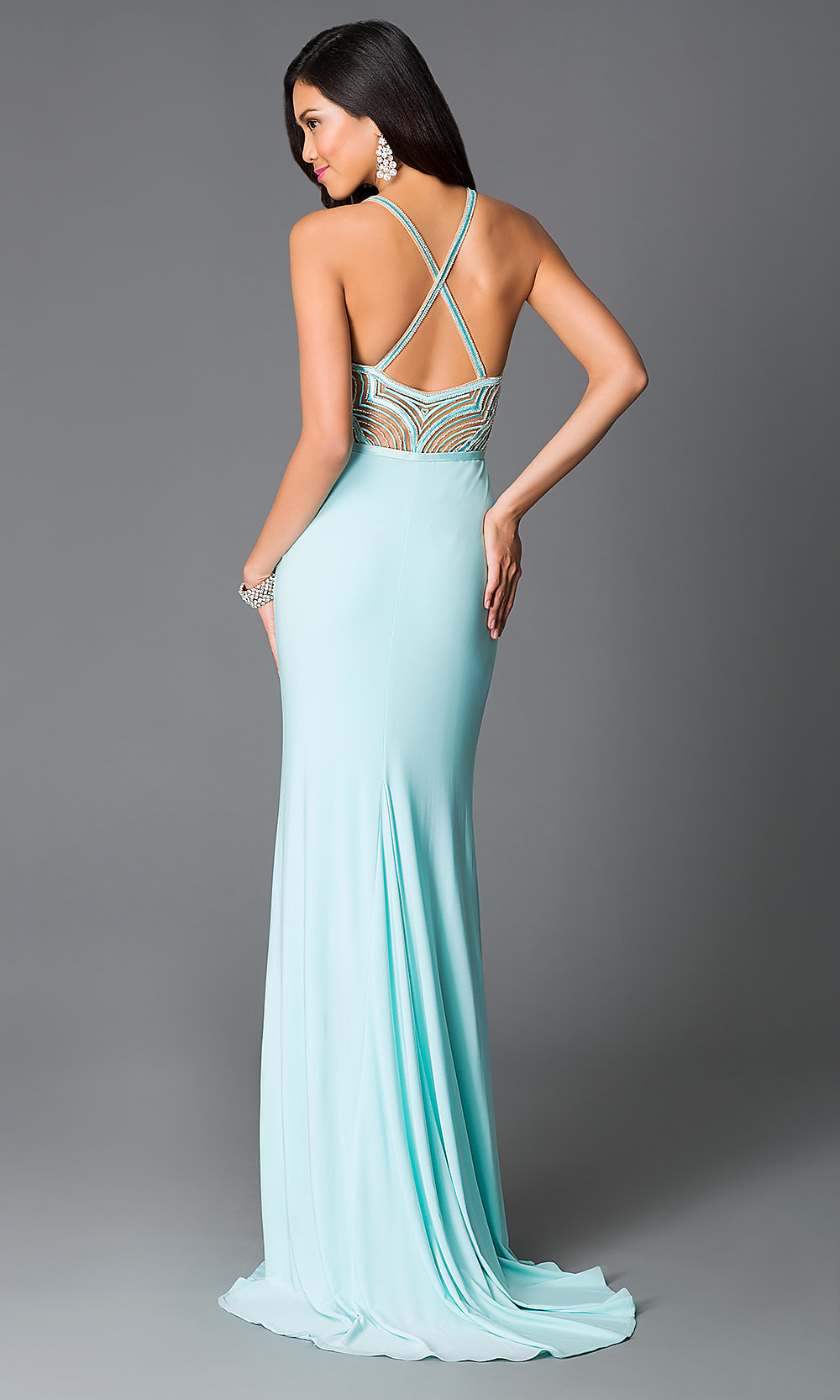 Wedding Aqua Prom Dresses prom dresses celebrity sexy evening gowns floor length hover to zoom