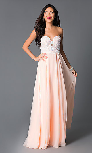 Orange Prom Dresses and Short Party Dresses - PromGirl