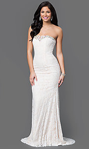 Long Lace Nina Canacci Dress