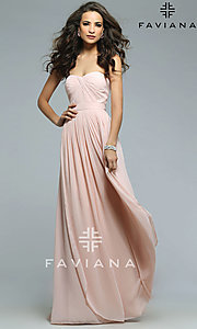 Long Multi-Way Prom Dress by Faviana