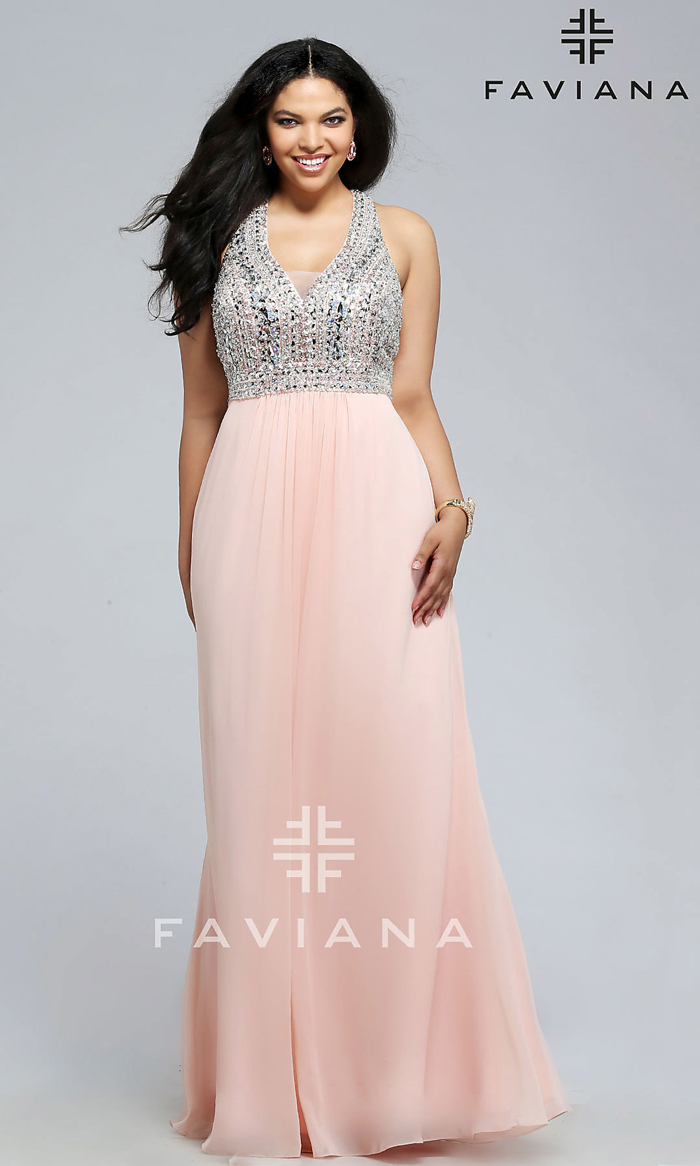Celebrity Prom Dresses, Sexy Evening Gowns - PromGirl: FA-9388