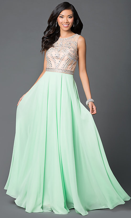 Light Green Formal Dresses