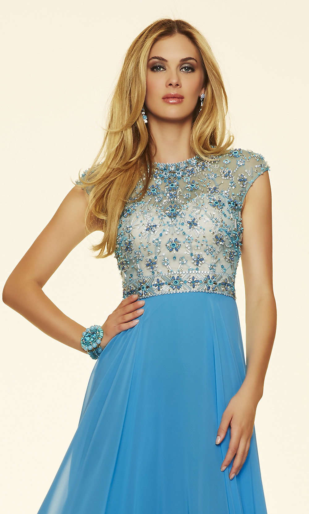 Celebrity Prom Dresses, Sexy Evening Gowns - PromGirl: Illusion ...