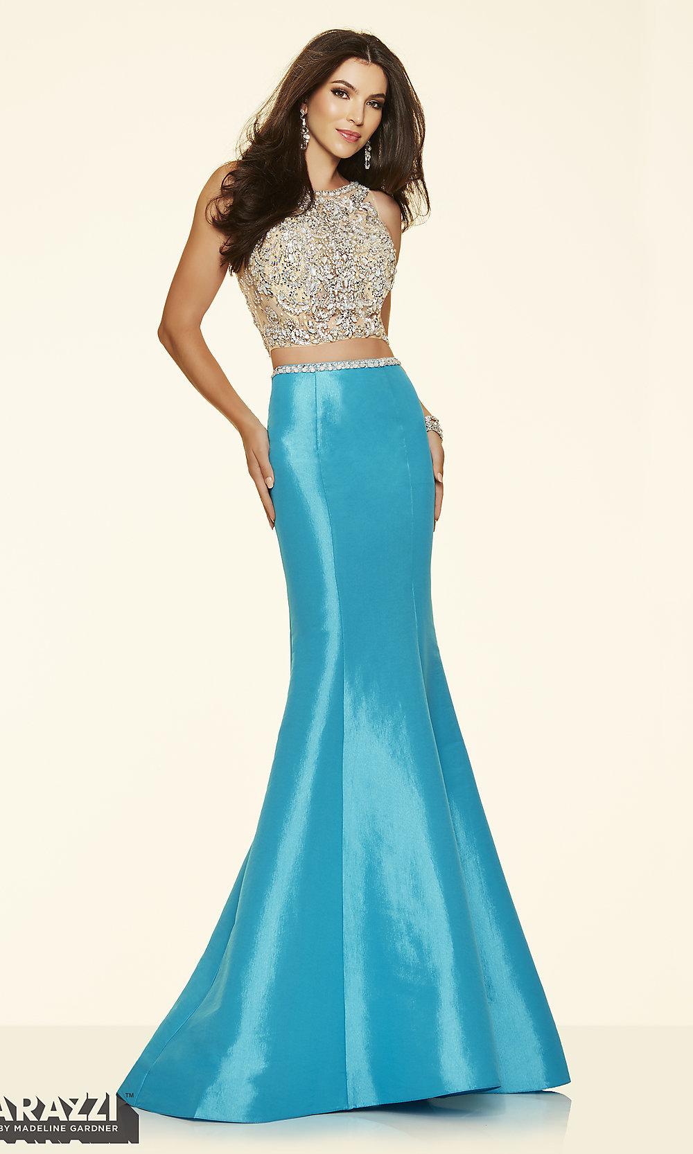 Celebrity Prom Dresses, Sexy Evening Gowns - PromGirl: Sheer Two ...