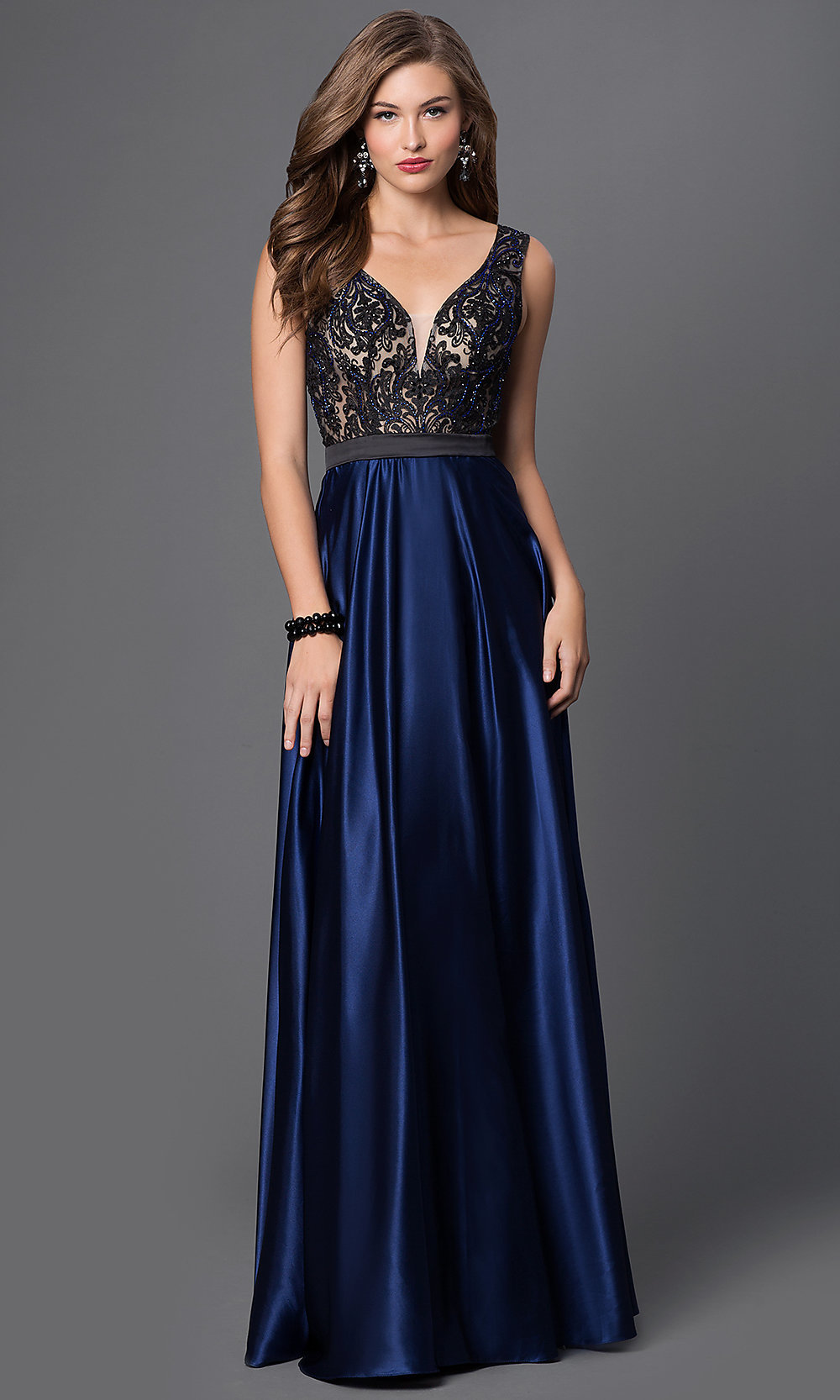 Celebrity Prom Dresses Sexy Evening Gowns Promgirl Po 7352