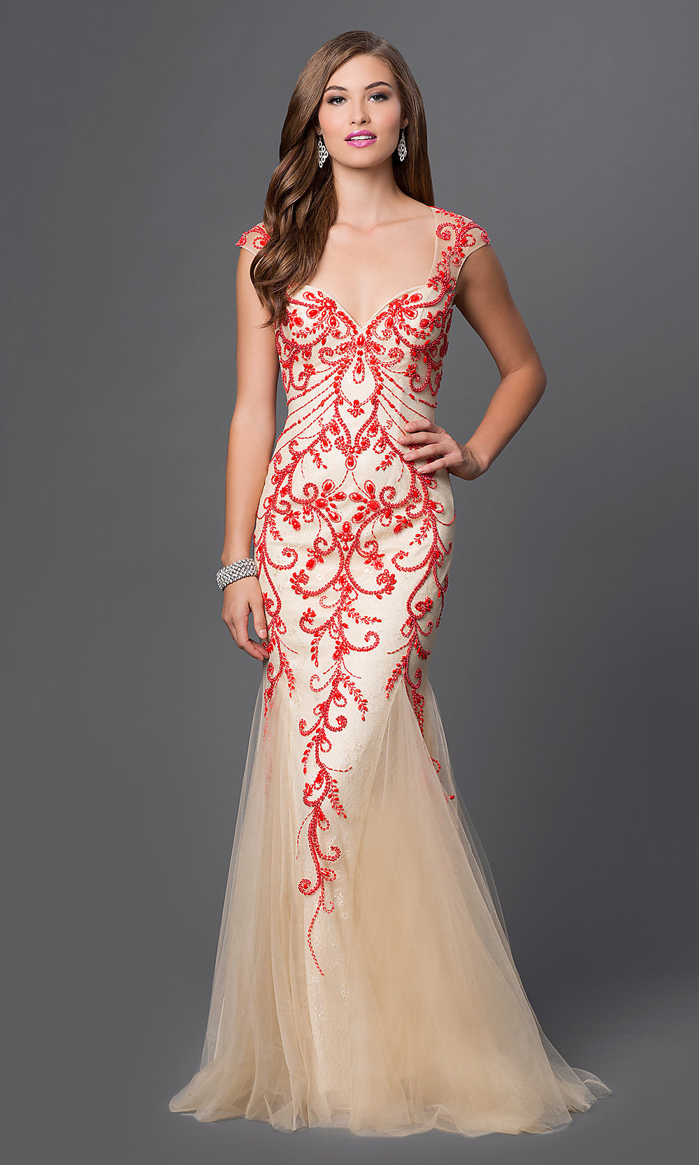 Celebrity Prom Dresses, Sexy Evening Gowns - Promgirl Dq-9300-9070