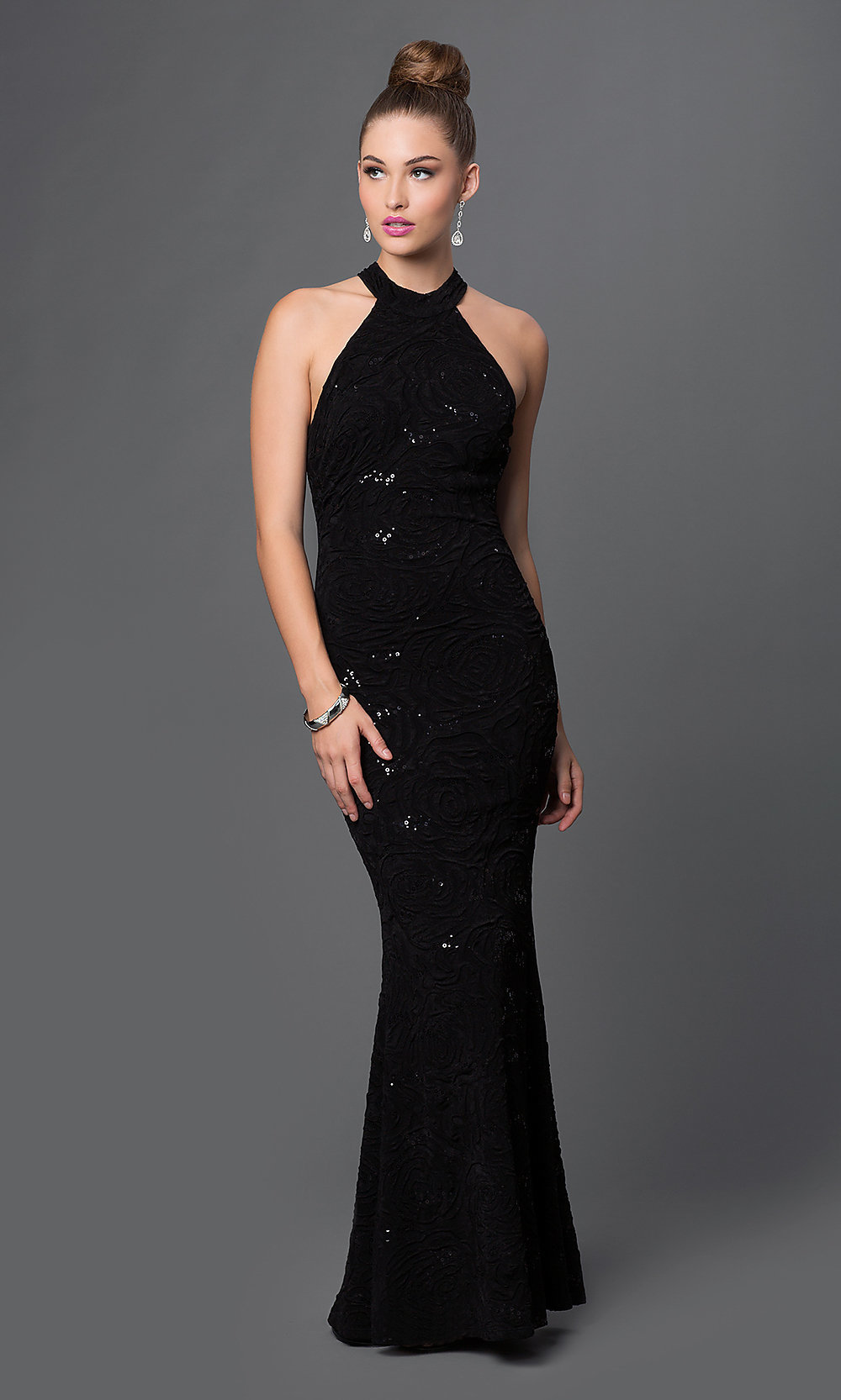 Black dress for prom night - Hover To Zoom