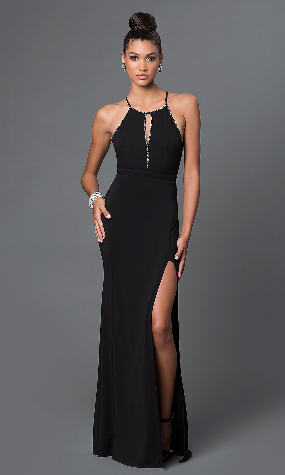 Low Back- Backless- Open Back Evening Dresses