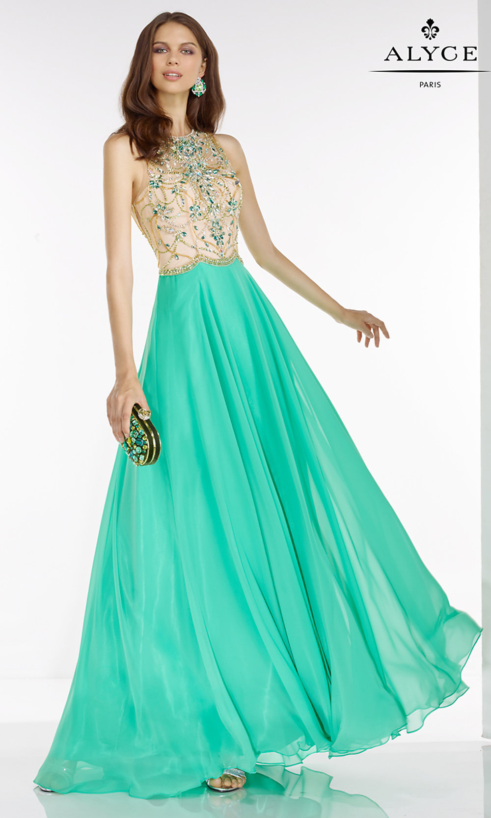 Celebrity Prom Dresses, Sexy Evening Gowns - PromGirl: Sleeveless ...