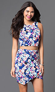Short Sleeveless Two-Piece As U Wish Dress
