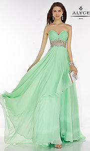 Empire Waist Long Alyce Prom Dress