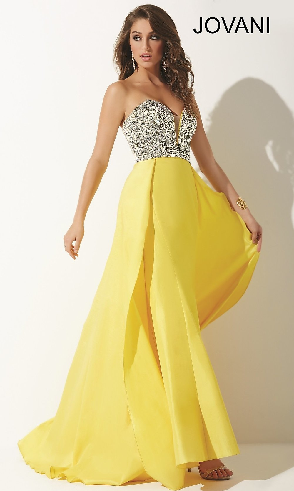 Celebrity Prom Dresses, Sexy Evening Gowns - PromGirl: Jovani JO-33175