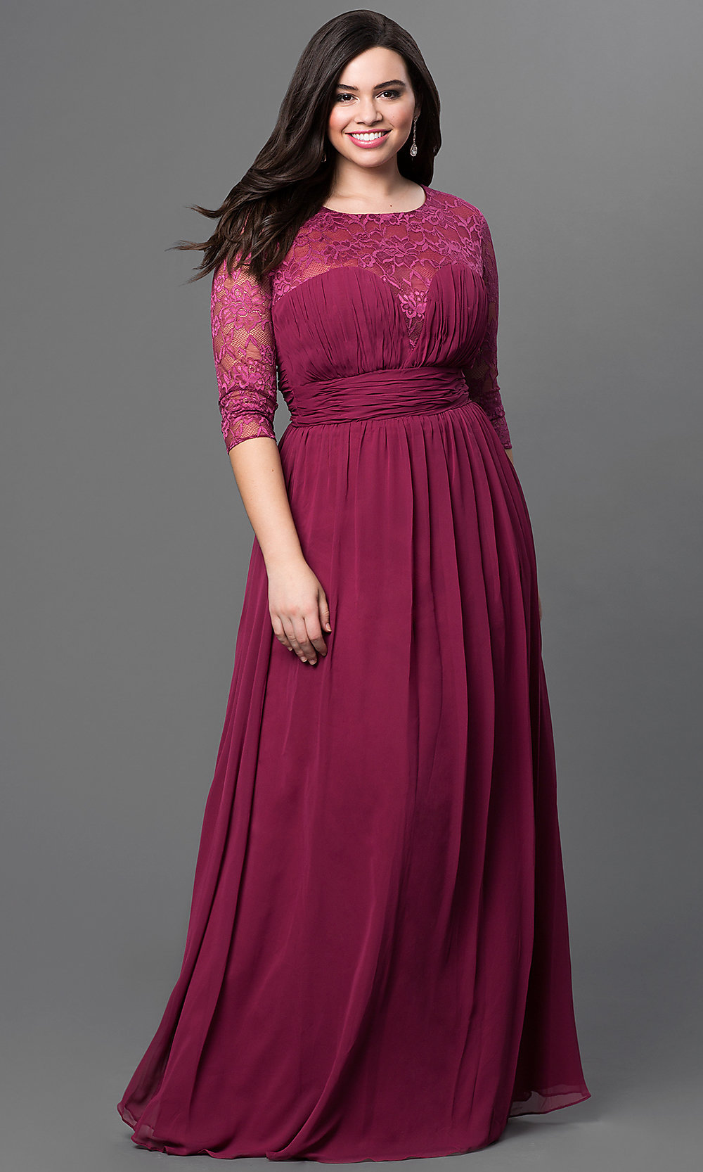 Long homecoming dresses plus size