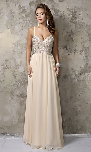 Celebrity Prom Dresses, Sexy Evening Gowns - PromGirl: NC-1236
