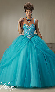 Long Sweetheart Quinceanera Dress by Mori Lee