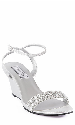 fabe95eec699 Silver Prom Shoes
