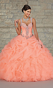 Mori Lee Sweetheart Sheer Back Quinceanera Dress