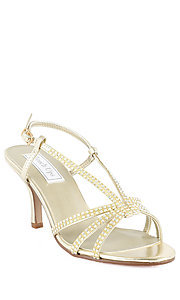 Lyric Gold Heel by Touch Ups