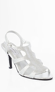Aphrodite Silver Heel by Touch Ups