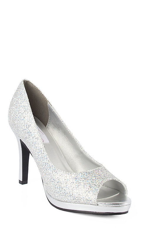 Prom Dresses, Plus-Size Dresses, Prom Shoes - PromGirl: Sari in Silver