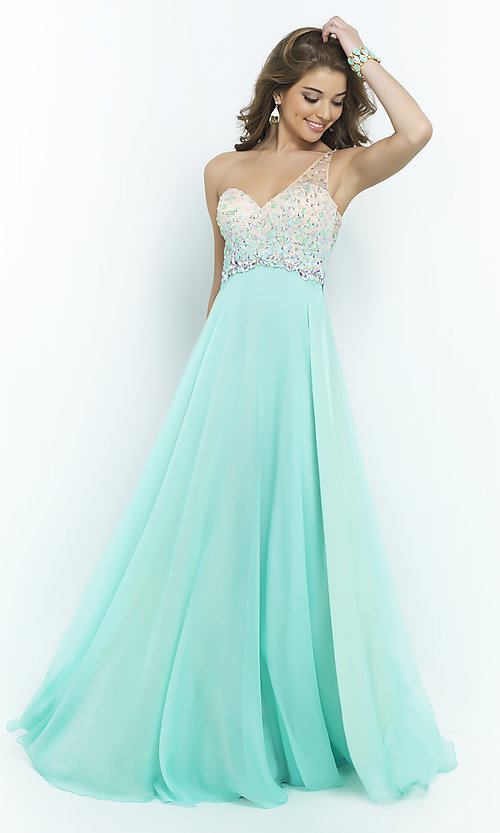 Celebrity Prom Dresses Sexy Evening Gowns Promgirl Bl 9965 V