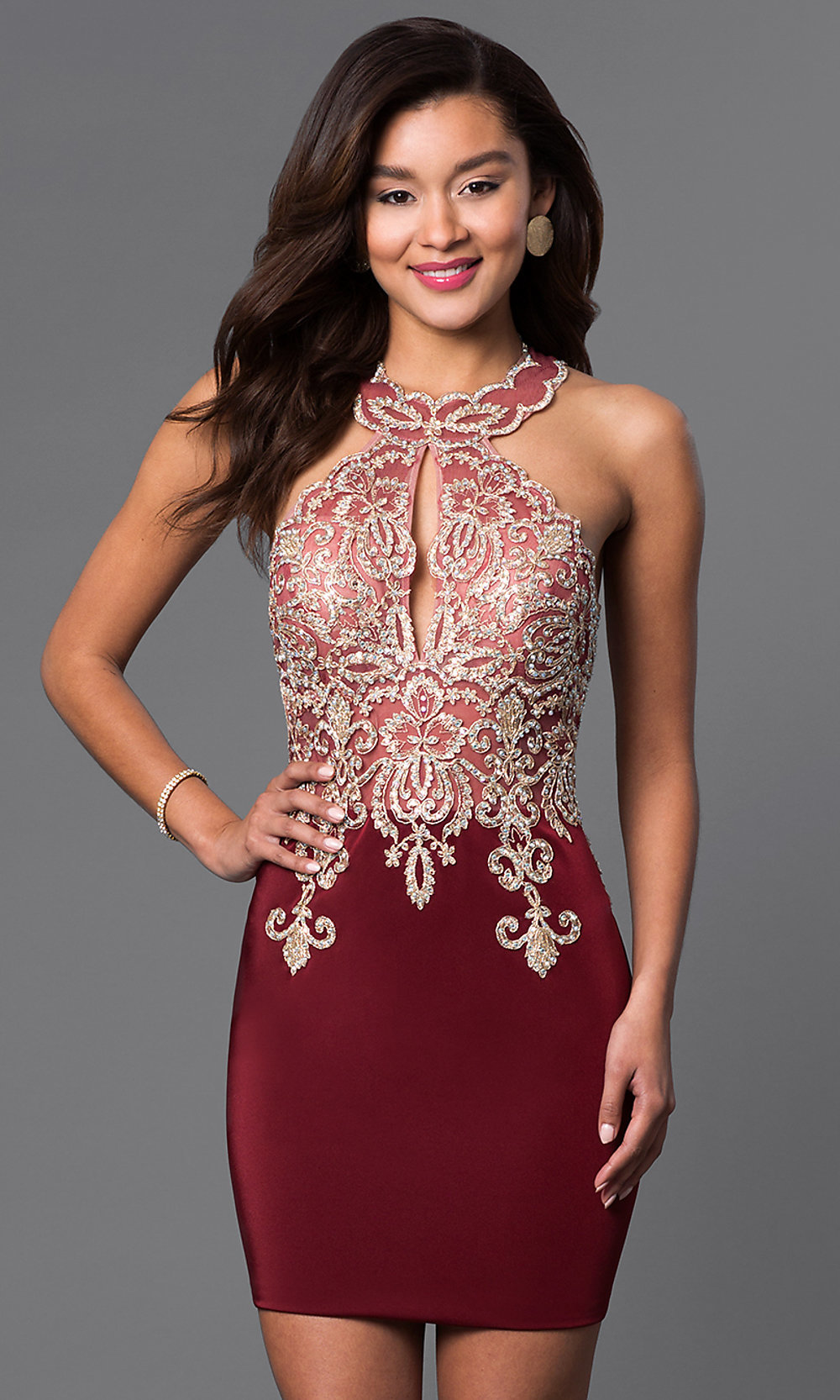 Dave Amp Johnny Bodycon Homecoming Dress Promgirl