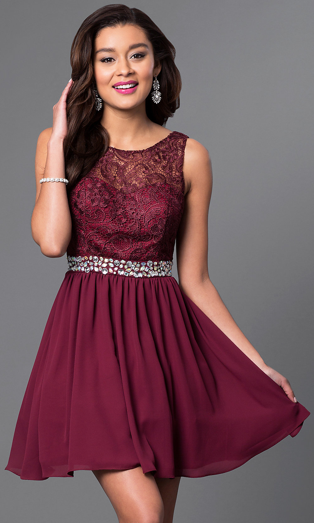 To acquire Dress burgundy picture trends