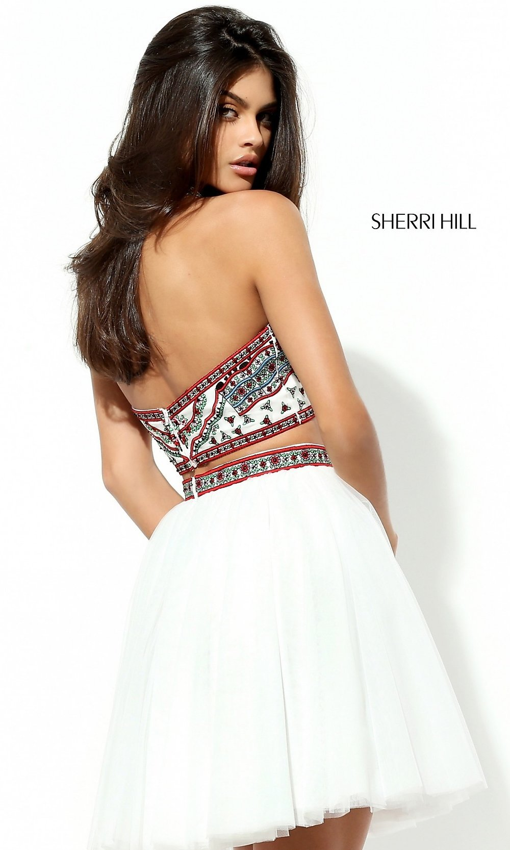 Sherri hill two piece homecoming dress promgirl hover to zoom ombrellifo Gallery