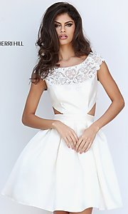Mock Two-Piece Sherri Hill Homecoming Dress