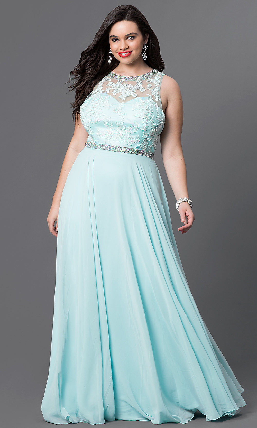 Celebrity Prom Dresses, Sexy Evening Gowns - PromGirl: DQ-9281Pb
