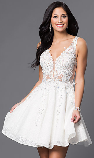 White and ivory wedding dresses promgirl loved junglespirit
