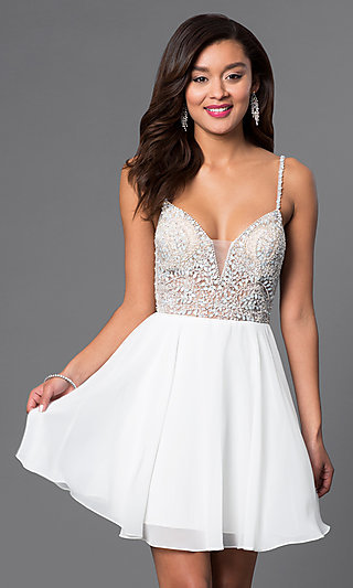 White Prom Dresses Houston