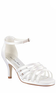 Julianne Ankle Strap Open Toe Shoe